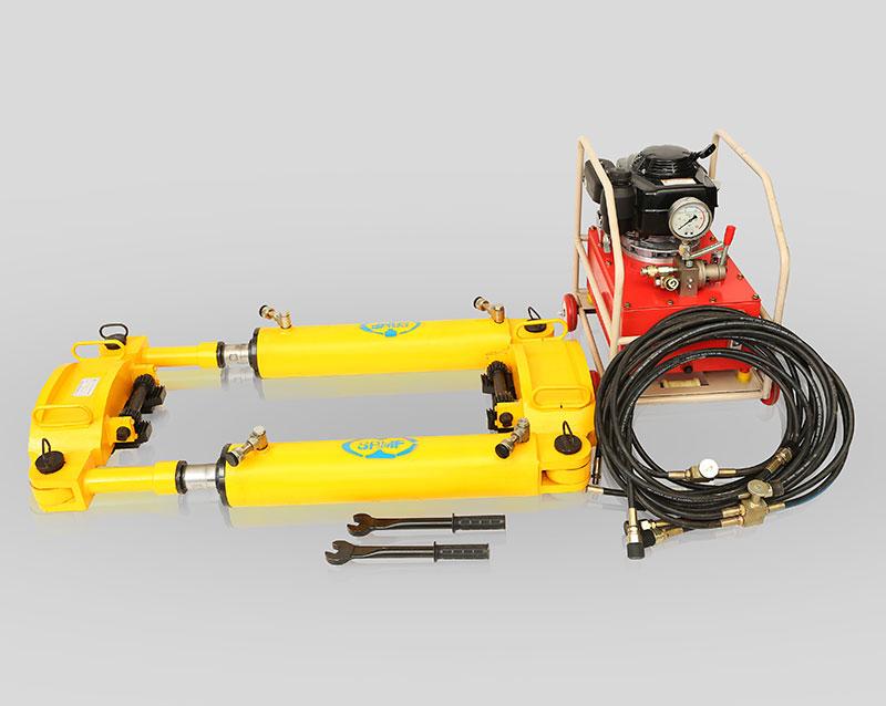 YLS-1000型液压钢轨拉伸机